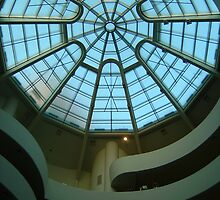 Guggenheim Museum atrium, 5th Ave, New York City, NY  by claudiarose99