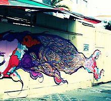 Sao Paolo Street Graffiti by skimak