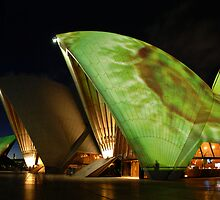 Light Show Sydney Opera House by TimC