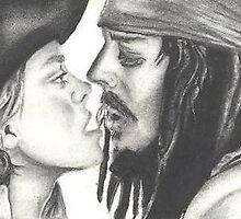 Jack and Elizabeth. by Megums