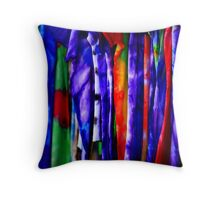 Tie Dyed... Throw Pillow
