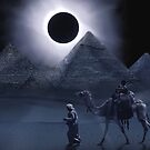 Giza Eclipse by Cliff Vestergaard