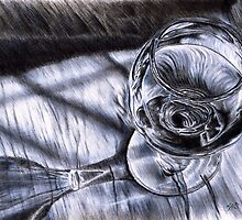 Care for a glass?  by Steven Torrisi