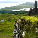 Old man of storr, Isle of Skye, Scotland by Willy Vendeville