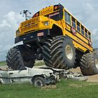 School bus bully by Larry  Grayam