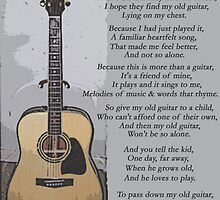My old guitar by Greg Hilton