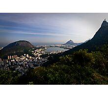 O Cristo Redentor, Rio De Janeiro, Brasil Photographic Print