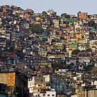 Rocinha Favela, Rio De Janeiro, Brasil by Craig Scarr
