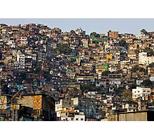 Rocinha Favela, Rio De Janeiro, Brasil Photographic Print
