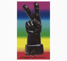 PEACE HAND SIGN by Reese Forbes