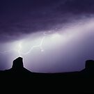Monument Valley Storm by Christopher  Boswell