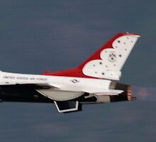 USAF Thunderbird by cshphotos