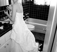 The Bride Getting Ready by Dana Nixon