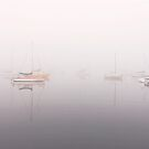 Fog over Limeburners Lagoon - Geelong by Hans Kawitzki