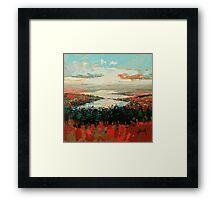 Loch Garry Haze Framed Print