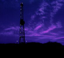 Blue Dawn on Rig by ChrisBaker