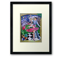 Spicy Salsa Dance Framed Print