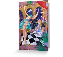Belly Dancer Greeting Card