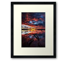 Another Day in the Office Framed Print