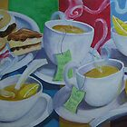 Tea Time Detail by nancy salamouny