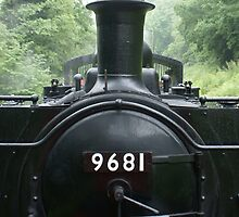 9681 Pannier Tank Engine by David Meacham