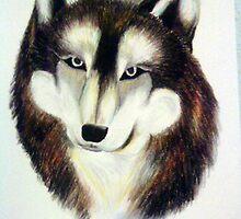 Flying Wolf by tarabas57