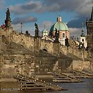Charles Bridge, Prague by Chris Tarling