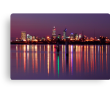 Perth City Reflections  Canvas Print