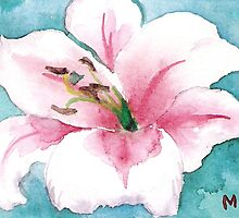 Pretty Lily by Marsha Woods