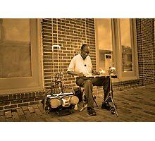 The Music Man Photographic Print