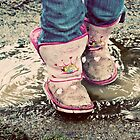 Sometimes You Just Have To Step In The Puddles by Designsbytami