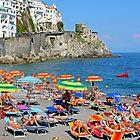 Amalfi Coast Beach by longaray2