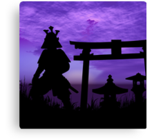 Gate Guardian Canvas Print
