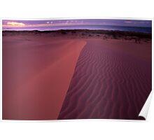 Pastel Dunes  Poster