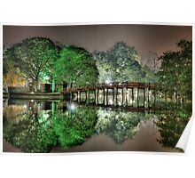 Huan Kiem Lake - Vietnam Poster