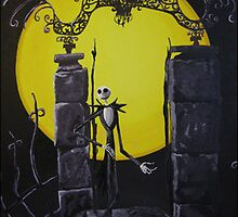 nightmare before christmas by lins