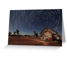 Under a Southern Sky Greeting Card