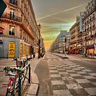 Parisian Dawn by S T