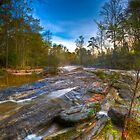 1575 - Enoree River Rocks by Ray Mosteller