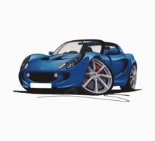 Lotus Elise S2 Blue by Richard Yeomans