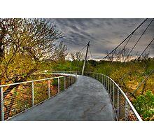 1945 - Alone on Liberty Bridge Photographic Print