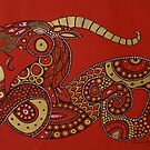 Red Dragon No. 2 by Lynnette Shelley