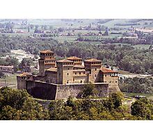 Italian Castles - Castle Of Torrechiara Photographic Print