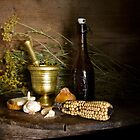 Retro still life by vaskoni