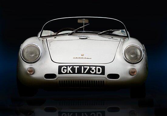 Porsche 550 Spyder by Paul Woloschuk