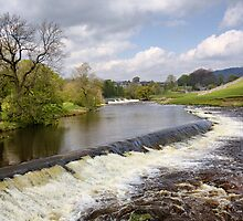 The Weirs at Linton by Roantrum