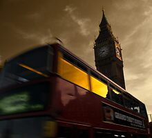 London night bus by ales olasz