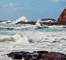Kiama Beach by Evita