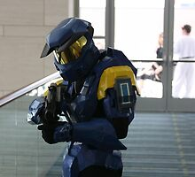 Halo Cosplay Close-up by Okeesworld