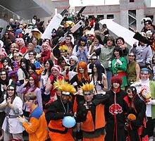 Naruto Cosplay Group Shot by Okeesworld